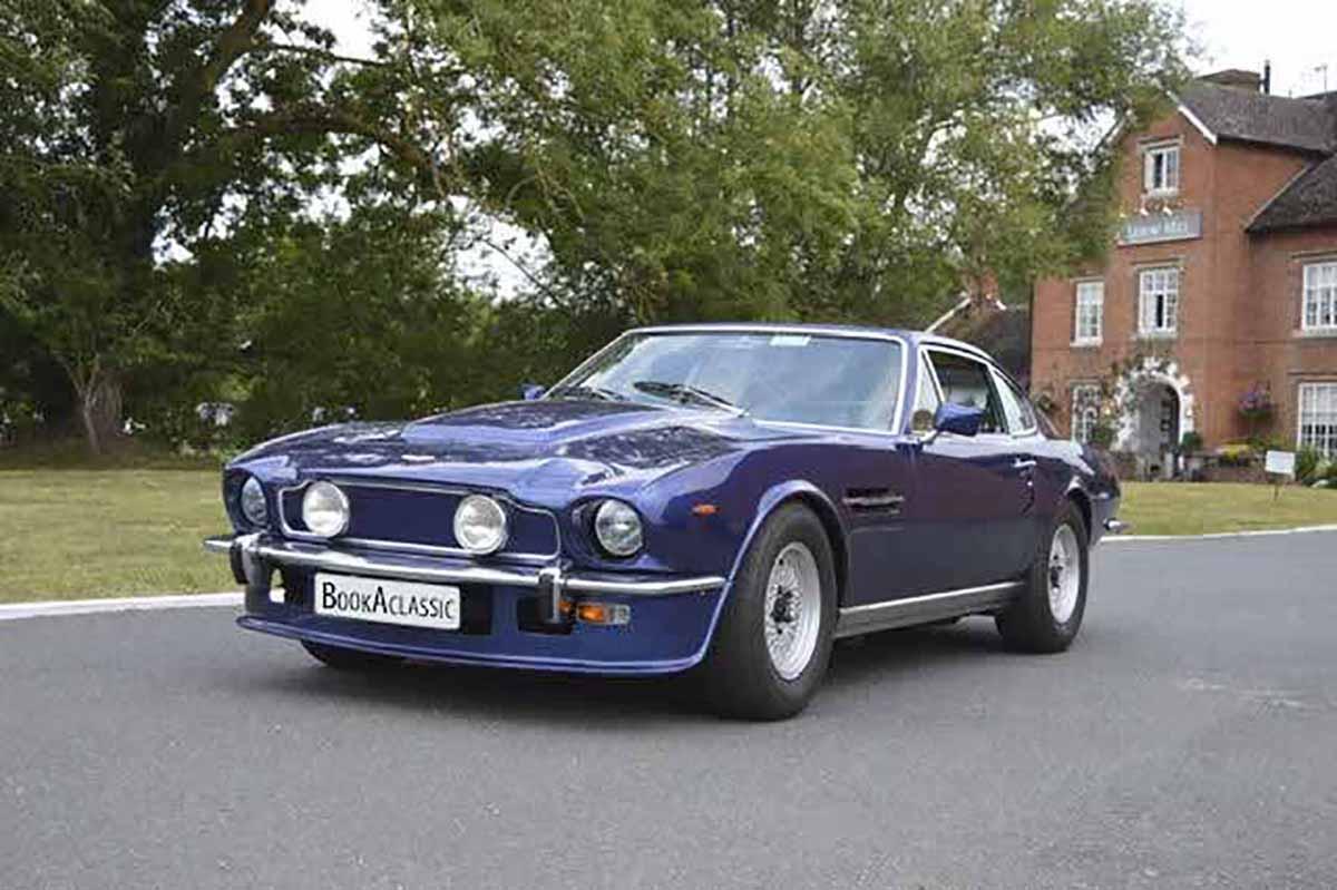 Aston Martin V8 Hire Worcester