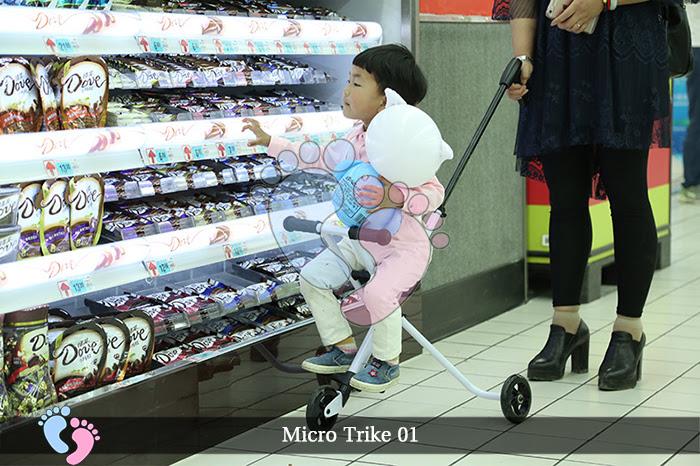 Xe đẩy siêu nhẹ Micro Trike 01 3