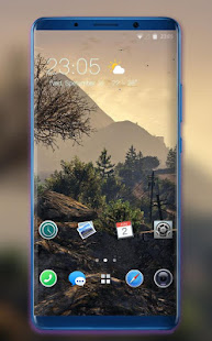 Download Theme for OPPO F9 Pro stone rural wallpaper APK