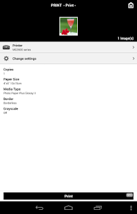 Canon PRINT Inkjet/SELPHY- screenshot thumbnail