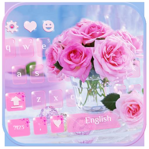 Bunga Mawar Pink Rose Keyboard Aplikasi Di Google Play