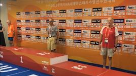 El podio del Mundial.