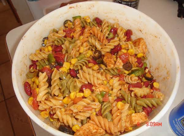 Southwest Taco Pasta Salad Recipe