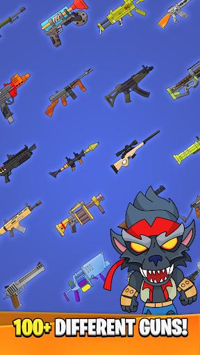 Code Triche Idle Royale Weapon Merger APK MOD screenshots 2