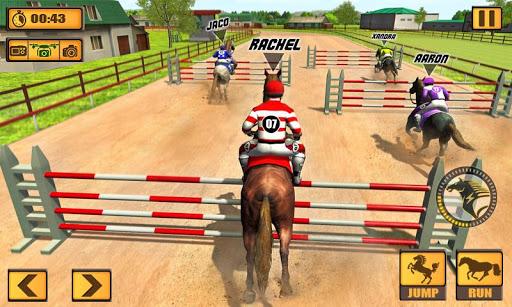 Horse Riding Rival: Multiplayer Derby Racing apk mod capturas de pantalla 2