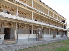 Photo: The Tuol Sleng Museum: a former school that was turned into the infamous Security Prison 21 (S-21) under the regime of the Khmer Rouge. I recommend taking a guided tour there for a better understanding, but be warned: the stories are shocking.