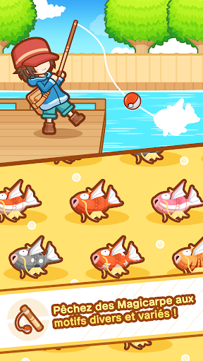 Code Triche Poku00e9mon : Magicarpe Jump APK MOD screenshots 4
