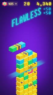 Flawless Hit: Stacking blocks. Retro games