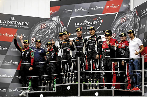 David Perel clinches his third title in the 2017 Blancpain GT Series season. Picture: SUPPLIED