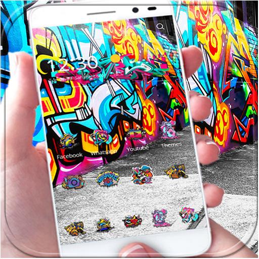 Street Graffiti Theme wall art