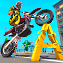 Monster Bike Game For Kids: Learn by Bike Crushing icon