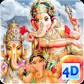 4D Ganesh Live Wallpaper icon