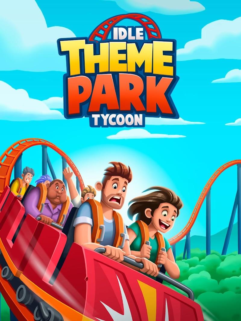 Idle Theme Park Tycoon - Recreation Game Screenshot 5