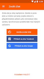 mobile-pocket věrnostní karty - náhled