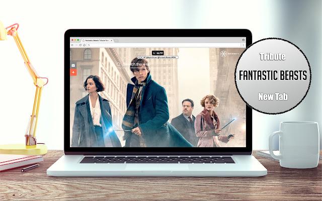 Fantastic Beasts Tribute New Tab