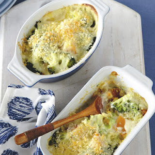 Broccoli and Pumpkin with Mornay Sauce Recipe