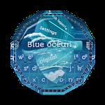 Blue ocean GO Keyboard
