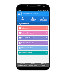 Govt eProcurement System App Download For Android and iPhone 8