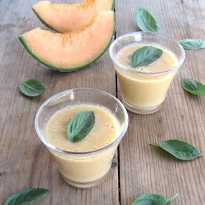 Fresh Cantaloupe Soup