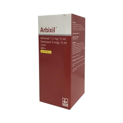 Ambroxol + Clenbuterol Arbixil 7,5mg-5mcg/5ml x120ml Pediatrico Jarabe Meyer