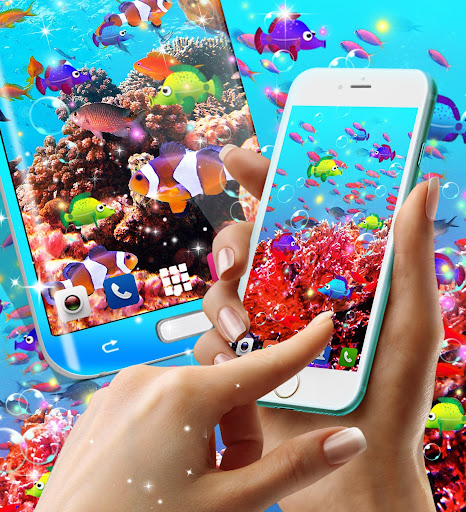 Fish live wallpaper 8.8 screenshots 3