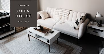 Saturday Open House - Facebook Event Cover Template