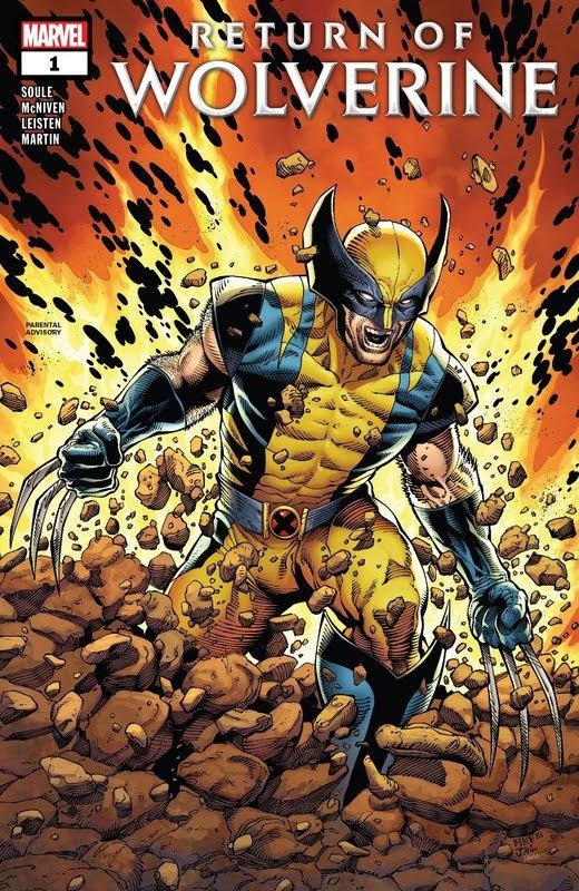 Return of Wolverine (2018) - complete