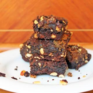 Easy Peanut Butter Brownies