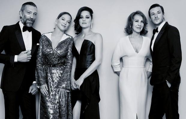 Это всего лишь конец света, актеры в фотосессии Каннского фестиваля-2016