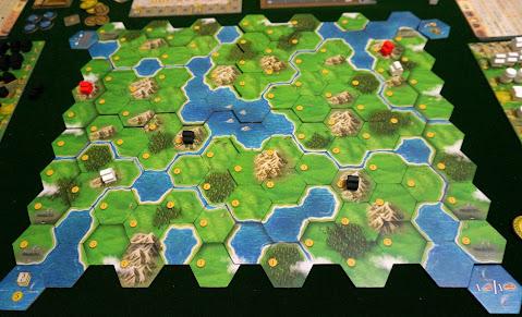 クランズ・オブ・カレドニア (Clans of Caledonia):マップボード