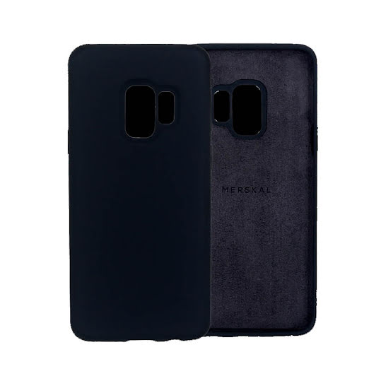 Merskal Soft Cover Galaxy S9 - Black