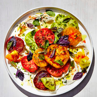 Tomatoes with Ricotta and Herbs Recipe