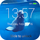 Whale Lock Screen