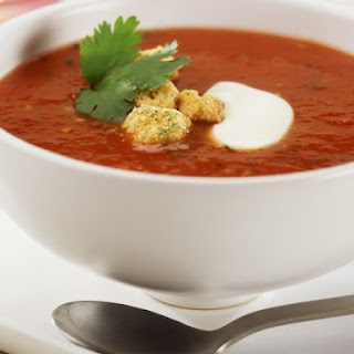 Pepper and Tomato Soup.