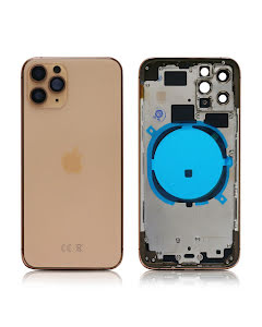 iPhone 11 Pro Housing without small parts HQ Gold