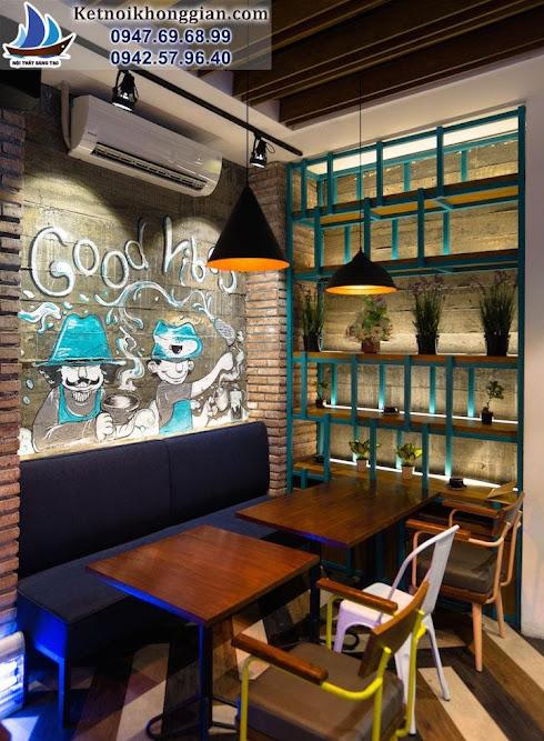thiết kế quán cafe cổ điển mà trẻ trung