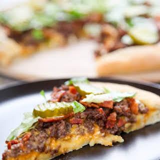 Bacon Cheeseburger Pizza.