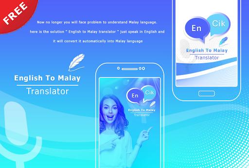English to Malay Translate - Voice Translator screenshot 1