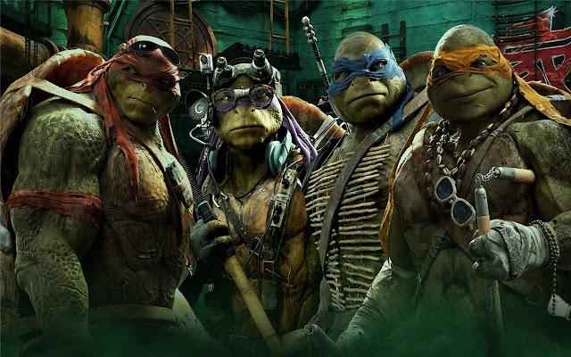 Teenage Mutant Ninja Turtles New Tab
