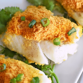 Goldfish® Cracker Crusted Baked Cod