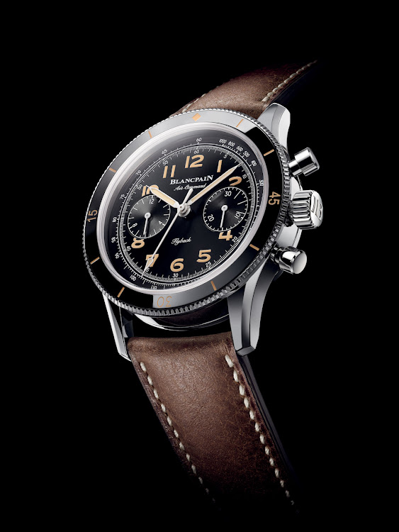 The new Blancpain Air Command chronograph reconnects with the historical ties.
