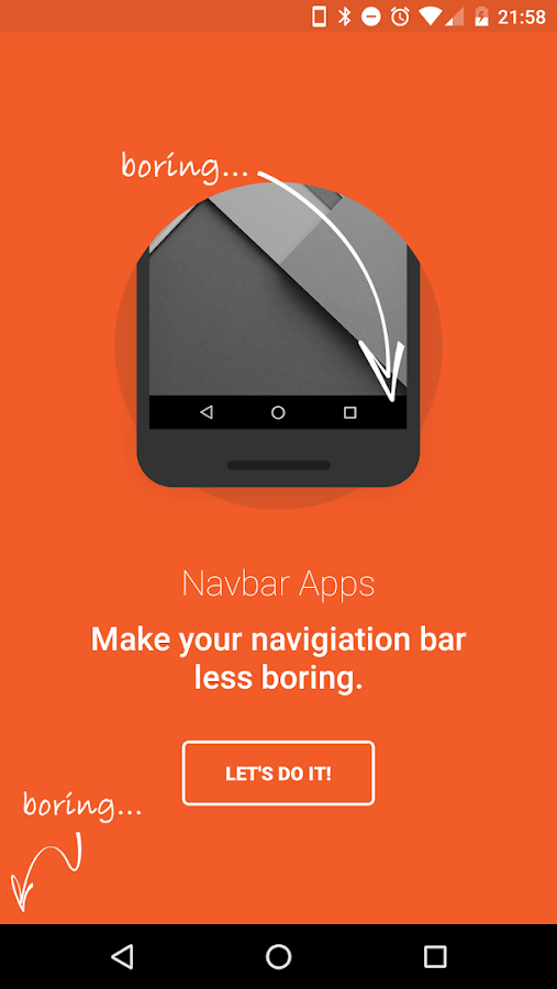 Navbar Apps- screenshot