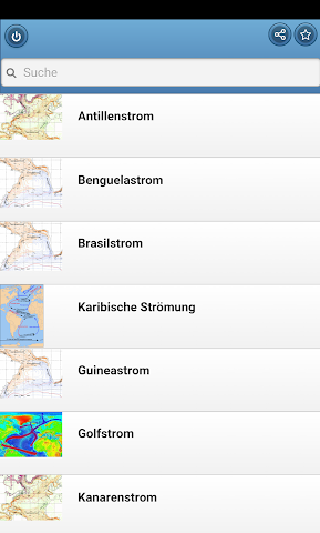 android Sea currents Screenshot 0