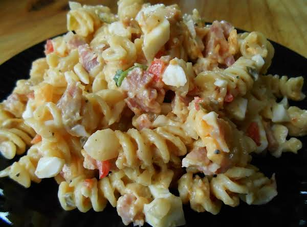 Smokey Maple Ham & Pasta Salad Recipe