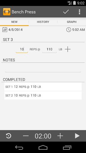 Simple Workout Log PRO Key 1.1 screenshots 6