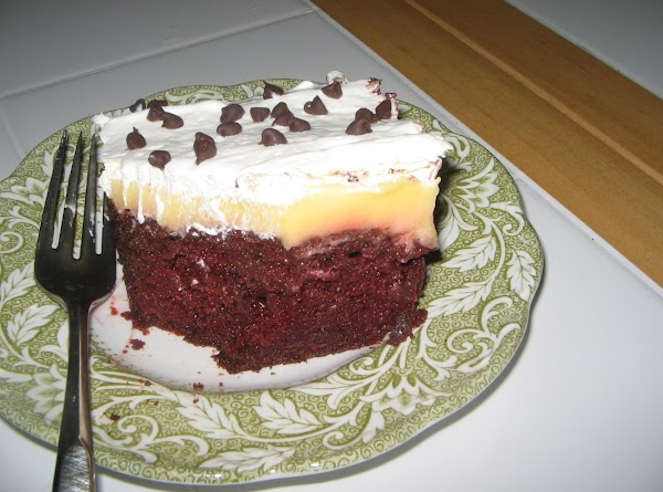 Chocolate Covered Cherry Refrigerator Cake Recipe