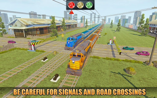 Indian Train Racing Simulator Pro: Train game 2019 image | 16