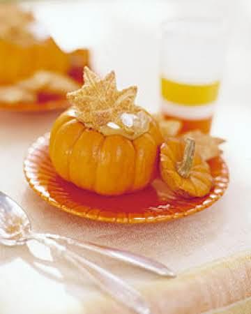 Small pumpkins or Acorn Squash