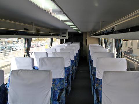 西鉄高速バス「桜島号」 6019 車内