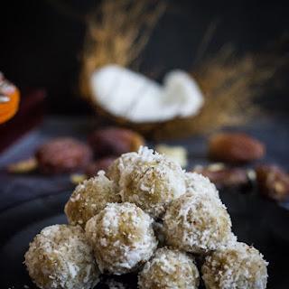 Coconut Date balls - Raw, Vegan, Refined sugar-free dessert.